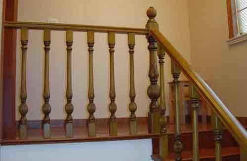 潍坊实木楼梯
