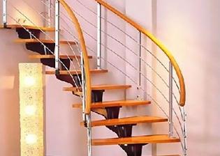 潍坊钢木楼梯