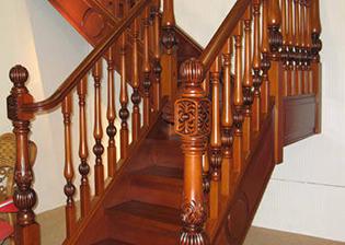 潍坊实木楼梯规格